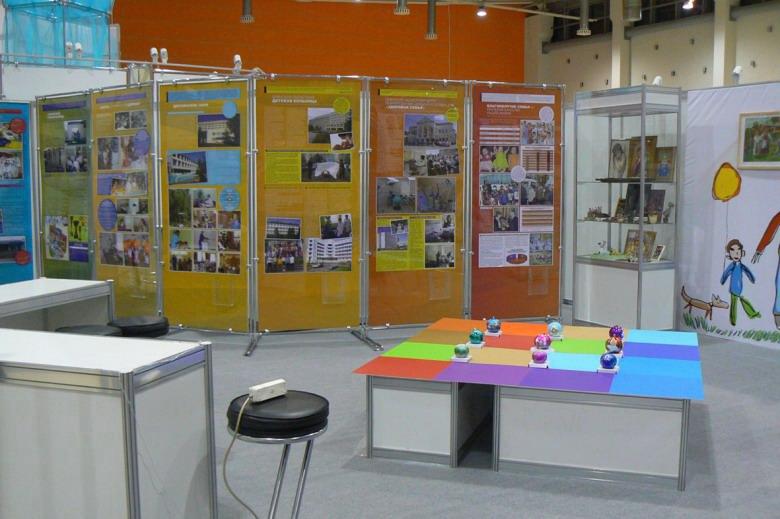 Оформление выставки «Год семьи». Москва